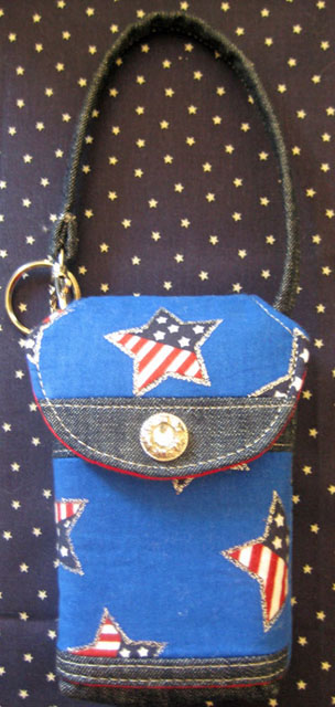 Stars & Stripes Cell Phone Purse #CP5102