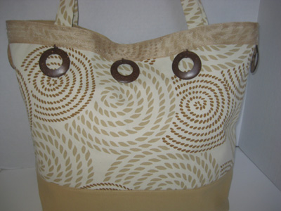 Swirls & Circles Tote #TO3106