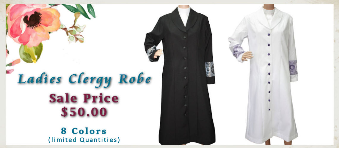 Ladies Clergy Robe