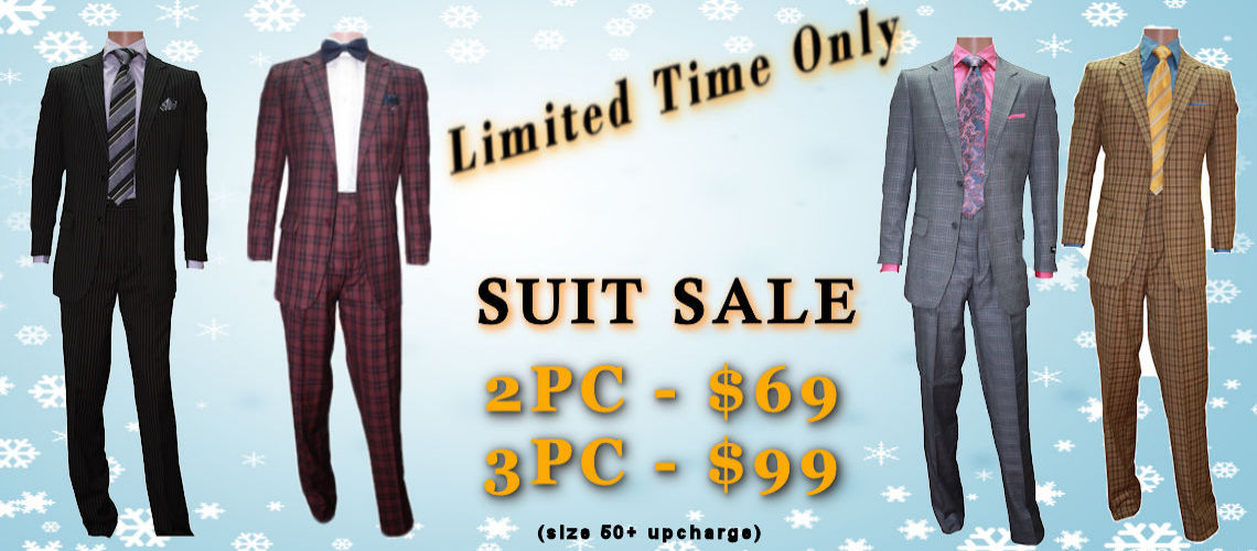 2PC 2Button Suits