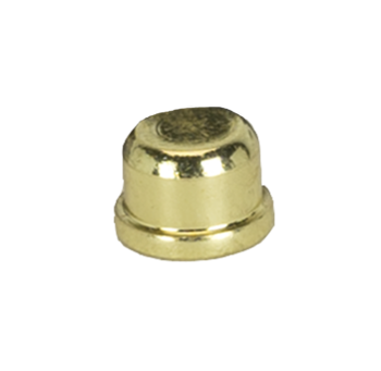 "0032 1.5"" Brass Plated Finial #0032"