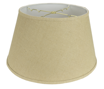 5216 Burlap Floor Lampshade Hardback with Trim #5216