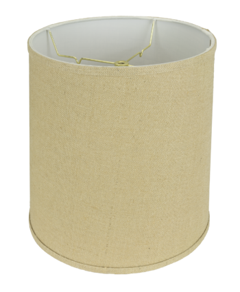 5258 Burlap Cylinder Hardback with Trim #5258