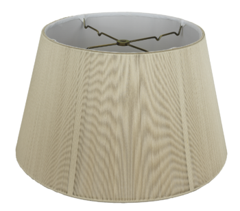 8016 Silk String Floor Lampshade With Hand Sewn Soft Lining D8016