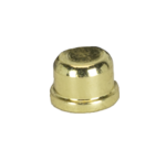 "0032 1.5"" Brass Plated Finial 0032"