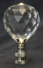 0206 Clear Fine Glass Finials 0206