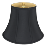 157 Shantung Oval Bell with Piping 157