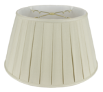 "3329 Homespun Linen 2"" Box Pleat Floor Lampshade 3329"