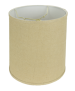 5258 Burlap Cylinder Hardback with Trim 5258