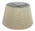8016 Silk String Floor Lampshade With Hand Sewn Soft Lining #D8016