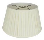 9316 Hand Sewn Shantung English Box pleat Floor Lampshade 9316