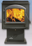 Huntsville 1400 Pedestal Wood Burning Stove (1400P) 1400P