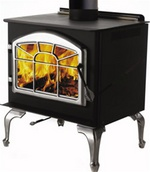 Huntsville 1400 Woodburning Stove - Leg Model (1400L) 1400L