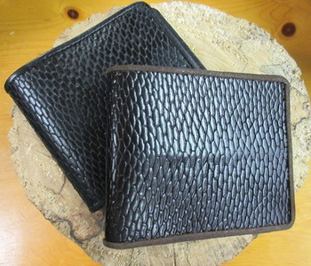 Men's Authentic Beaver Tail Wallet #abtwallet