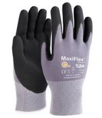 ATG Work Gloves MaxiFlex Ultimate 34-874 Nitrile Foam Palm Coated Grip 34-874