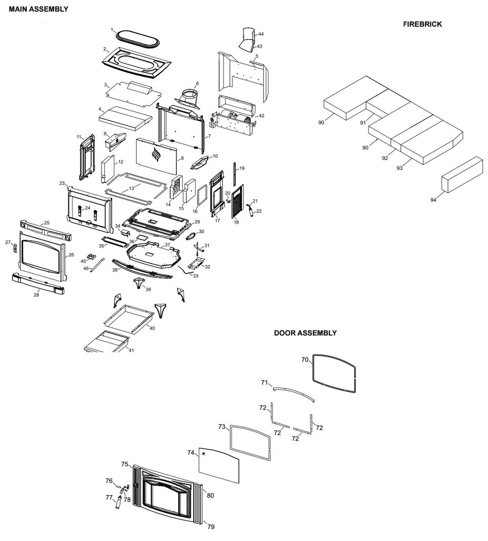 h300 h300 cozy cabin regency parts store
