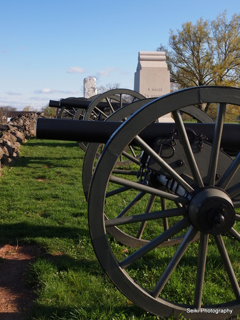 Canons at Gettysburg, PA #20-P3297517