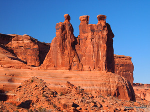The Three Gossips - Arches NP #D2106400