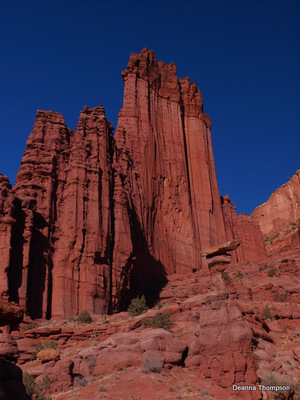 Fisher Towers from Fisher Tower Canyon #PC106579