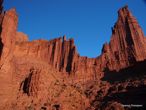 Titan Tower Amphitheater - Fisher Towers #PC106613