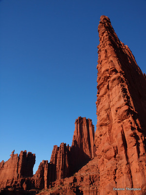 Cottontail & Ancient Art Tower - Fisher Towers #PC106614
