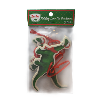 Holiday Dino Air Freshner #ChristmasAir