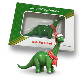 Dino's Holiday Collection 2017 Ornament #ChristmasDINO17
