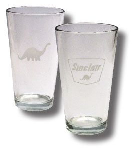 Sinclair Pint Glass #PINTGLASS