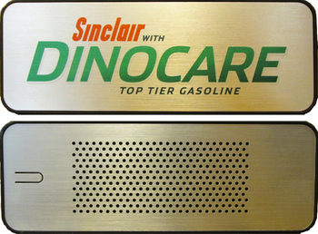 Sinclair DinoCare Top Tier Gasoline Evrybox Bluetooth Speaker and Charger DinoCareSpeaker