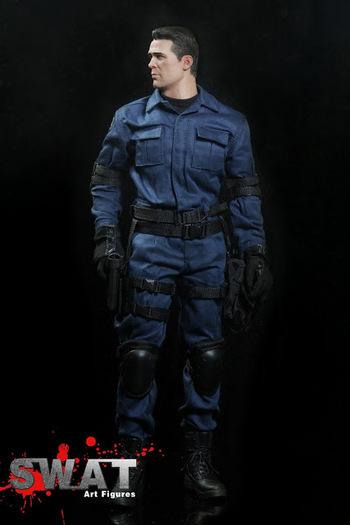 """Art Figures 1/6 Scale 12"""" SWAT Art Figure AF-0013 #AF-013"""