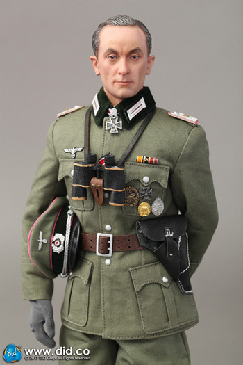 """DID 1/6 Scale 12"""" WWII German Wehrmacht Heer Tiger Ace Otto Carius Standard #D80177G"""