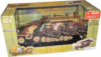 21st Century XD 1/18 Scale WWII German Sdkfz. 251/1 Stuka Zu Fuss Halftrack #638748188690