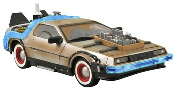 Diamond Select Back to the Future Part III 3 1/15 Scale Time Machine Deloreon #3072
