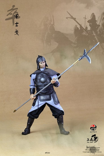 "303 Toys 1/6 Scale 12"" Three Kingdoms Series Chinese Hoplite Action Figure  #303-000"
