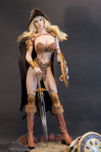 "Executive Replicas Phicen 1/6 Scale 12"" Female Arhian Head Huntress PL-2016-85 #PL-2016-85"