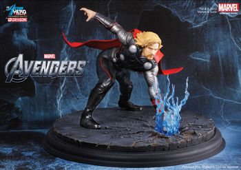 Dragon 1/9 Scale Action Hero Vignette Marvel The Avengers Thor Model Kit 38102 #38102