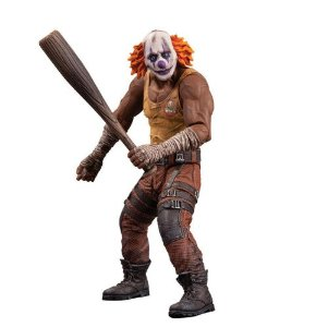 "DC Comics Batman Arkham City Series 3 7"" Clown Thug A with Bat Action Figure #JUN20302"