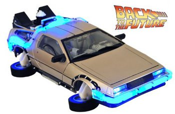 Diamond Select Toys Back to the Future Part II 1/15 Scale Time Machine Mark I #3079