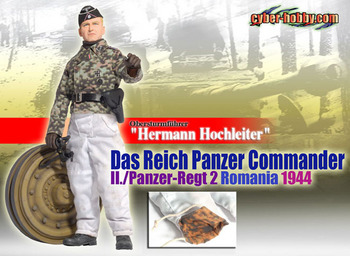 """Dragon Cyber Hobby 1/6 scale 12"""" WWII German Panzer Hermann Hochleiter Action Figure 70659 #70659"""