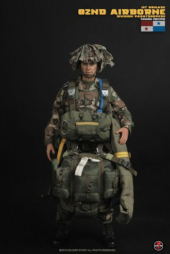 """Soldier Story 1/6 Scale 12"""" 1st Brigade 82nd Airborne Division Paratrooper SS089 #SS-089"""