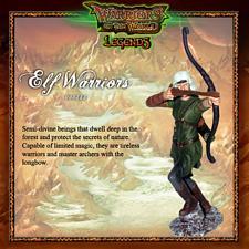 BBI 90mm 1/18 Scale Warriors of The World Legends Elf Warrior Action Figure  #355