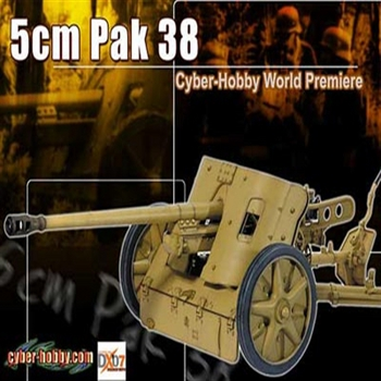 "Dragon Cyber Hobby Exclusives 12"" Accessory 5cm Pak 38 Weapon 1/6 Scale #71317"