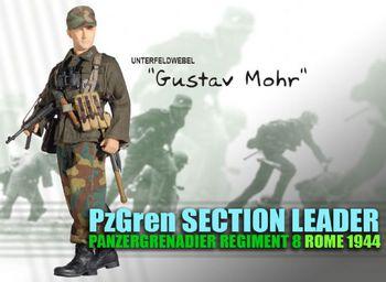 "Dragon Models WWII German Infantry Soldier 1/6 Scale 12"" Gustav Mohr 70328 #70328"