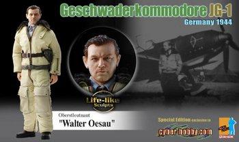 """Dragon 1/6 Scale 12"""" WWII German 1944 JG-1 Oberstleutnant Walter Oesau 70738 #70739"""