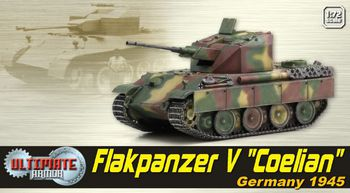 "Dragon Ultimate Armor 1/72 Scale Flakpanzer V ""Coelian"" German 1945 Tank 60525 #60525"