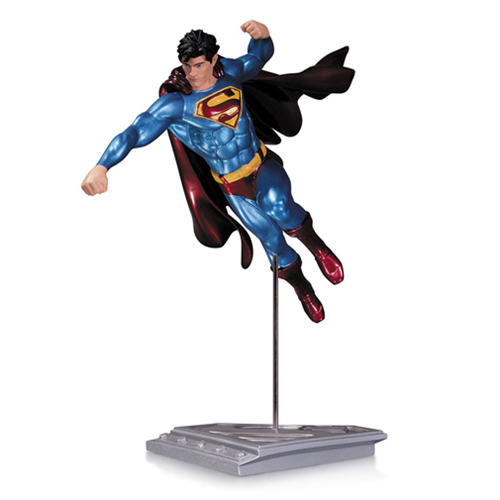 "DC Collectibles Superman The Man of Steel Statue by Shane Davis 8.25"" Tall #761941320175"