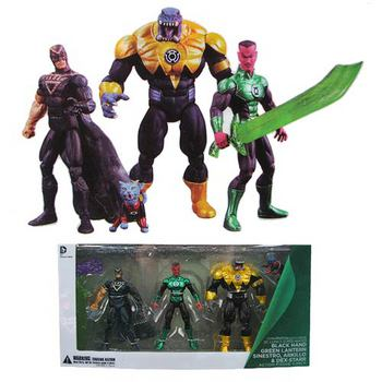 DC Comics Collectibles Super Heroes Convention Exclusive Green Lantern 4 Pack #761941313542