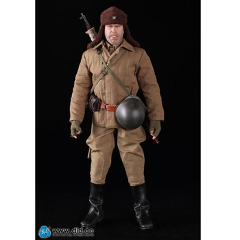 "DID 1/6 Scale 12"" WWII Russian Sniper Battle of Stalingrad 1942 Koulikov R80102 #R80102"