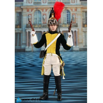"DID 1/6 Scale 12"" Napoleonic French Dragoon Herve Action Figure 80104 #N80104"