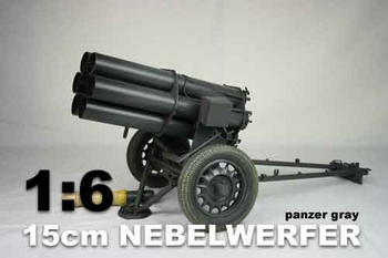 DID 1/6 Scale WWII German 15cm Nebelwerfer Panzar Gray for Action Figure W60011G #W60011G